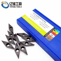 Indexable carbide inserts / indexable insert drill VCMT series