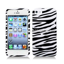 Zebra-stripe PC Hard Case Cover For iPhone 5c mini Lite