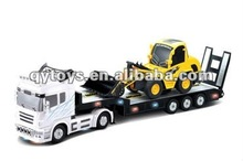 1:32 RC heavy trailer with 1:20 RC truck custom rc trailers