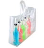 OEM Custom printing waterproof Plastic PVC wine travel tote bag
