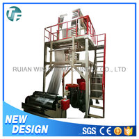 Professional polyethylene plastic film blowing machine price