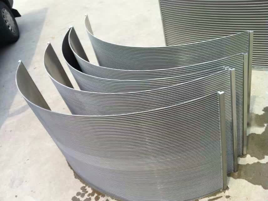 High Quality Welded Wedge Wire Arc Screen