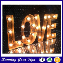 Hotsale Custom Romantic Love Marquee Light Letters