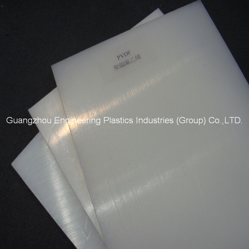 High quality Engineering plastic pvdf virgin material Polyvinylidene fluoride sheet/Rod