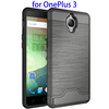 New Brushed TPU + PC Combination Case for OnePlus 3 Mobile Case Cover