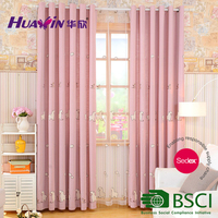 Fashion cartoon kids curtain,china supplier decor home embroidery curtain fabric