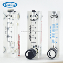 DFG-4T6T acrylic high accuracy argon gas flow meter nitrogen rotameter for compatible gases