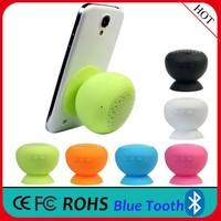 (Promotion) Top Wireless Mini Bluetooth Speaker, Silicon Mushroom Portable Mini Speaker, Bathroom Portable Bluetooth Speaker