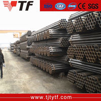 Building steel round hollow structural schedule 40 astm a53 grade b welded steel tube