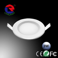 LED Residential Lighting 3w Led Recessed