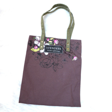 Custom Reusable Plain Tote Shopping Cotton Canvas Cloth Bag with Zipper