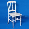 White Napoleon Chair