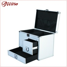 Customized Aluminum Carrying Tool Case With Drawers