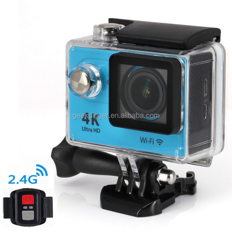 Original Eken H9 Ultra HD 4K Video 170 degrees Wide Angle Sports action Camera 2-inch Screen 1080p 60fps