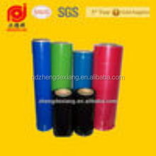 3 Layers Machine LLDPE Color Hand Stretch Film Plastic Wrap