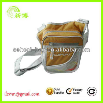 trendy Canvas travel sport waist bags
