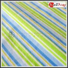 2015 China Hot Selling sofa upholstery cotton blue and white striped fabric