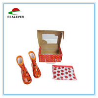 Red Ladybug Rainboot And Raincoat Children