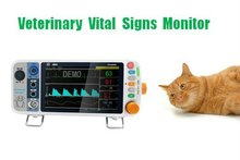 Hospital Veterinary Vital Signs Patient Monitor for Horse/Dog/Cat with CE