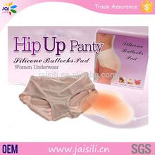 China gold supplier Hot selling Underwear Anti-Bacterialwomen silicone buttock and hip pads