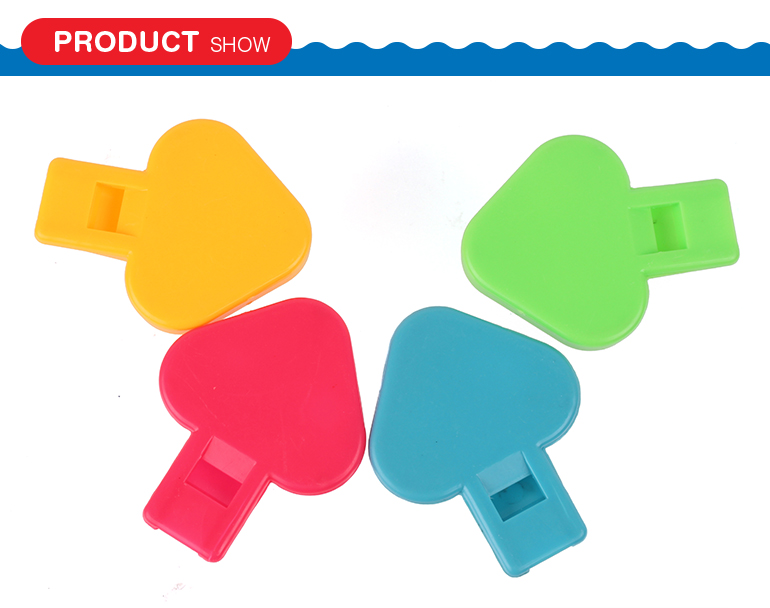 New design cartoon mushroom cute plastic toy whistle for sale