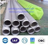 TP316L ASTM A312 solid solution of acid white seamless stainless steel boiler tubes/pipes