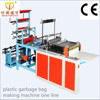plastic garbage bag making machine one line
