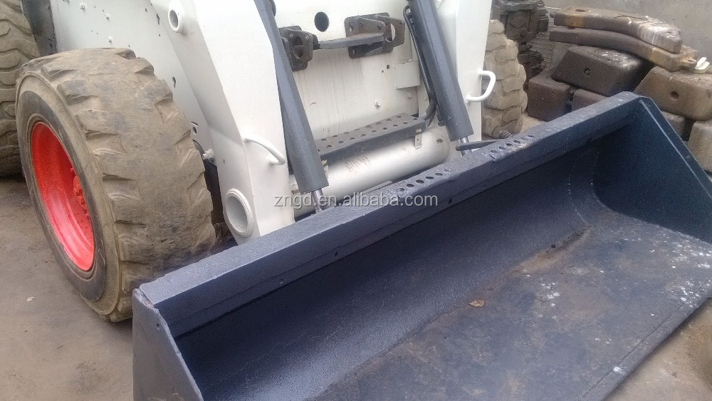 used good condition backhoe loader bobcat S300 in shanghai