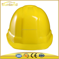 Visor For Safety Helmet with HDPE shell hard hat for construction worker