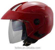 dual visors motocross helmet dot half helmet motorcycle casco design ece and dot approved