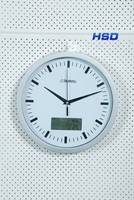 HSD Promotion Quartz Wall Clock Leather Wall Clock