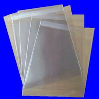Manufacturer Transparent Plastic Resealable opp packing bags