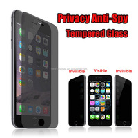 Anti-shock for iphone 6 screen protector, privacy tempered glass screen protector