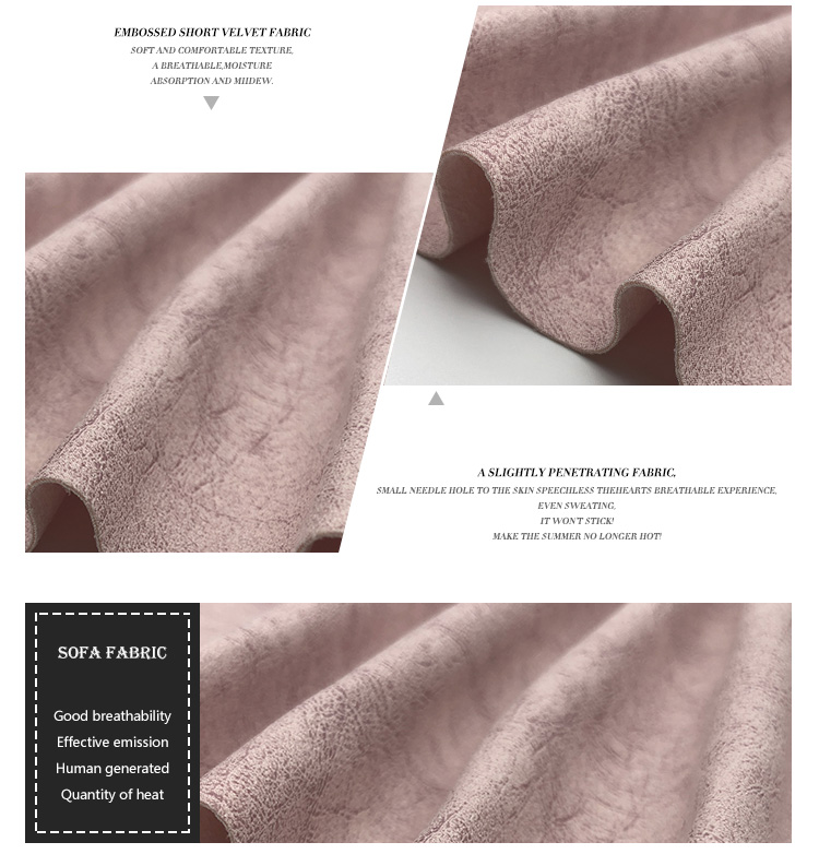 Easy Clean Microfiber Waterproof House Textiles For Sofa Fabric