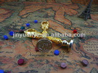 The hot selling sealing wax logo stamps