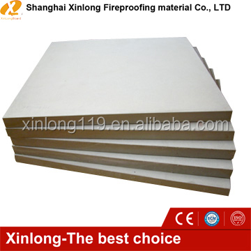 Non asbestos 4-25mm thickness calcium silicate ceiling board