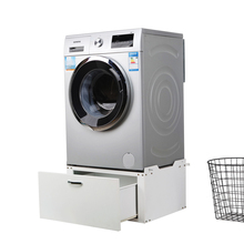Bathroom furniture washing machine storage cabinet