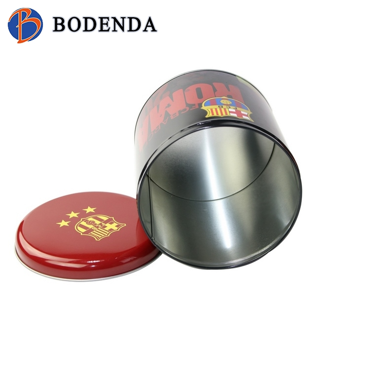 2018 popular tin box promotion food grade coffee tin box