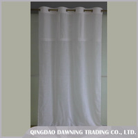 Fine Price Embroidery Window Cotton Curtain