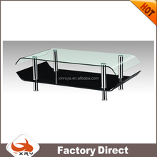 New dinner table set furniture modern design glass tea /coffee table with high quality