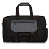 China suppliers custom mens 100% nylon leather vogue waterproof document travel bag