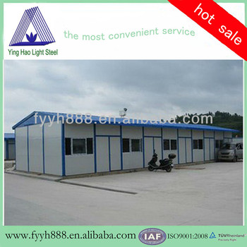 Lowcost Multi-use prefabricated house make in china hot sale to overseas