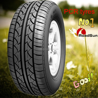 Passenger Car Tyre/Tire 165/70R14 direct from China factory