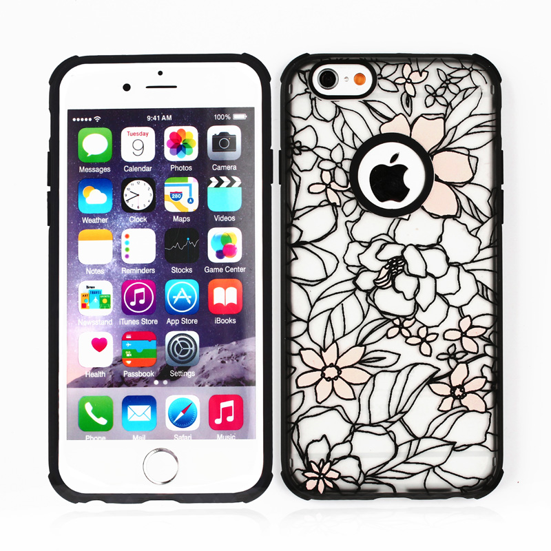 100% Brand New Hybrid TPU PC Case For iPhone 5C,Glow Case For Iphone 5