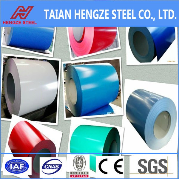 JIS ASTM Standards trading companies PPGI Prepainted galvanized steel coil chinede trading company