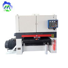 Automatic precision wide belt sander sanding wood MDF panel machine for sale
