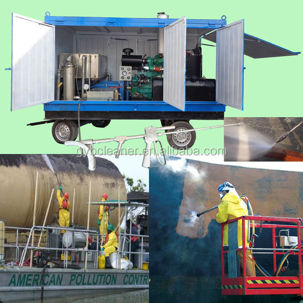 High Pressure Water Jet Spray For Boiler Scale Cleaning