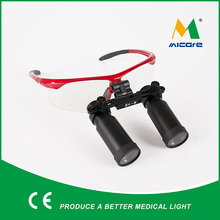 Magnifying Glasses Binocular 6.0X Surgical Microsurgery Loupes adjust headlight