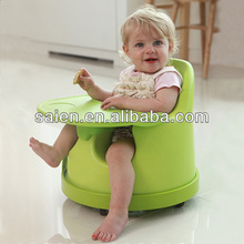 2014 new product hot selling pu foam bamboo baby chair