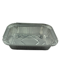 Bruma security aluminum microwave foil food container